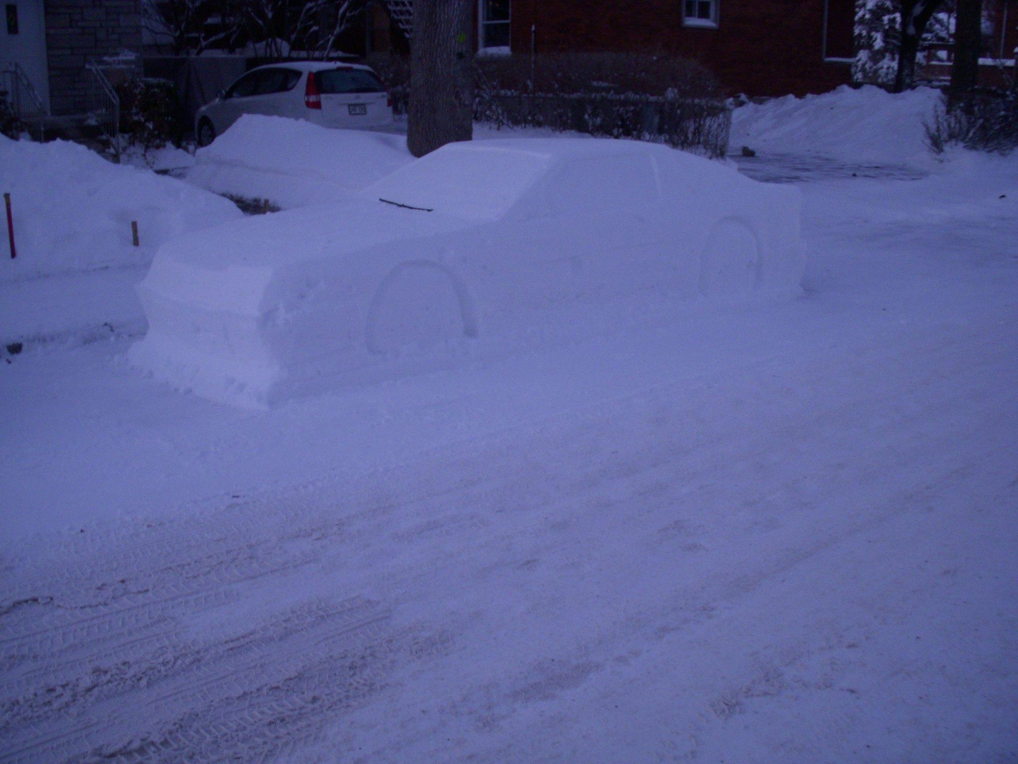 Toyota Supra snow (7)