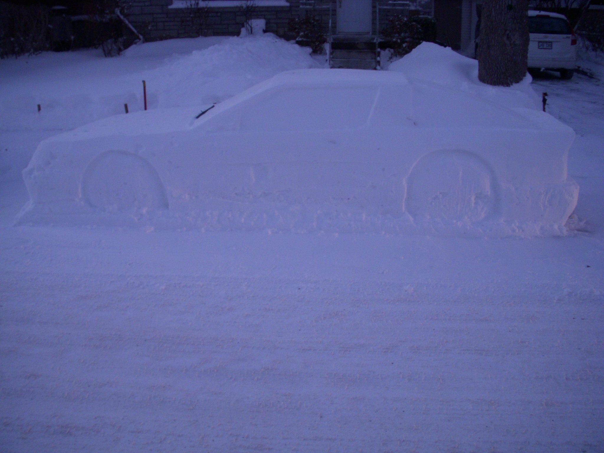 Toyota Supra snow (8)