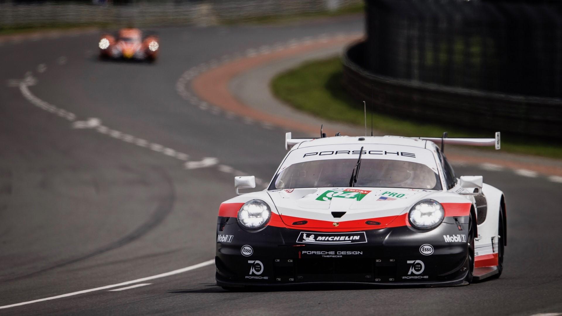Porsche 911 RSR, Porsche GT Team (94), Timo Bernhard (D), Romain Dumas (F), Sven Müller (D), Le Mans 2018