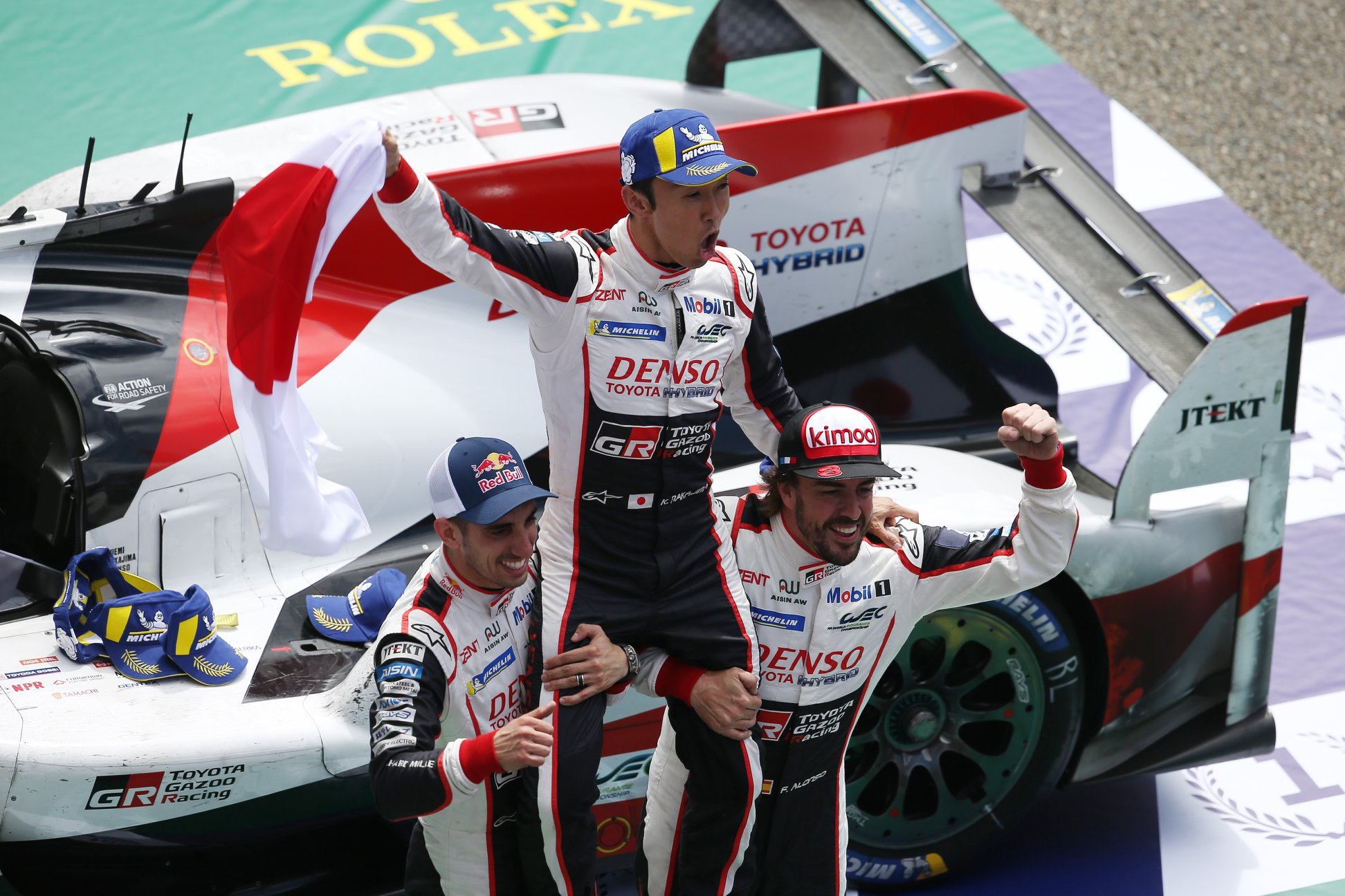 Toyota win Le Mans 2018 (3)