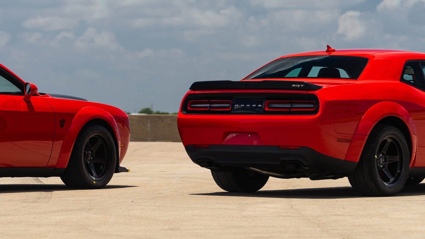Two Dodge Challenger Demon in auction (12)