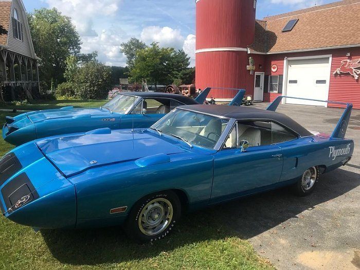 Two Plymouth Superbird for sale (4)