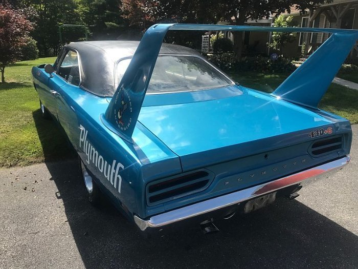 Two Plymouth Superbird for sale (5)