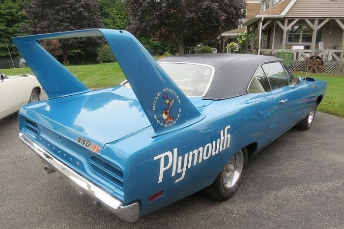 Two Plymouth Superbird for sale (7)