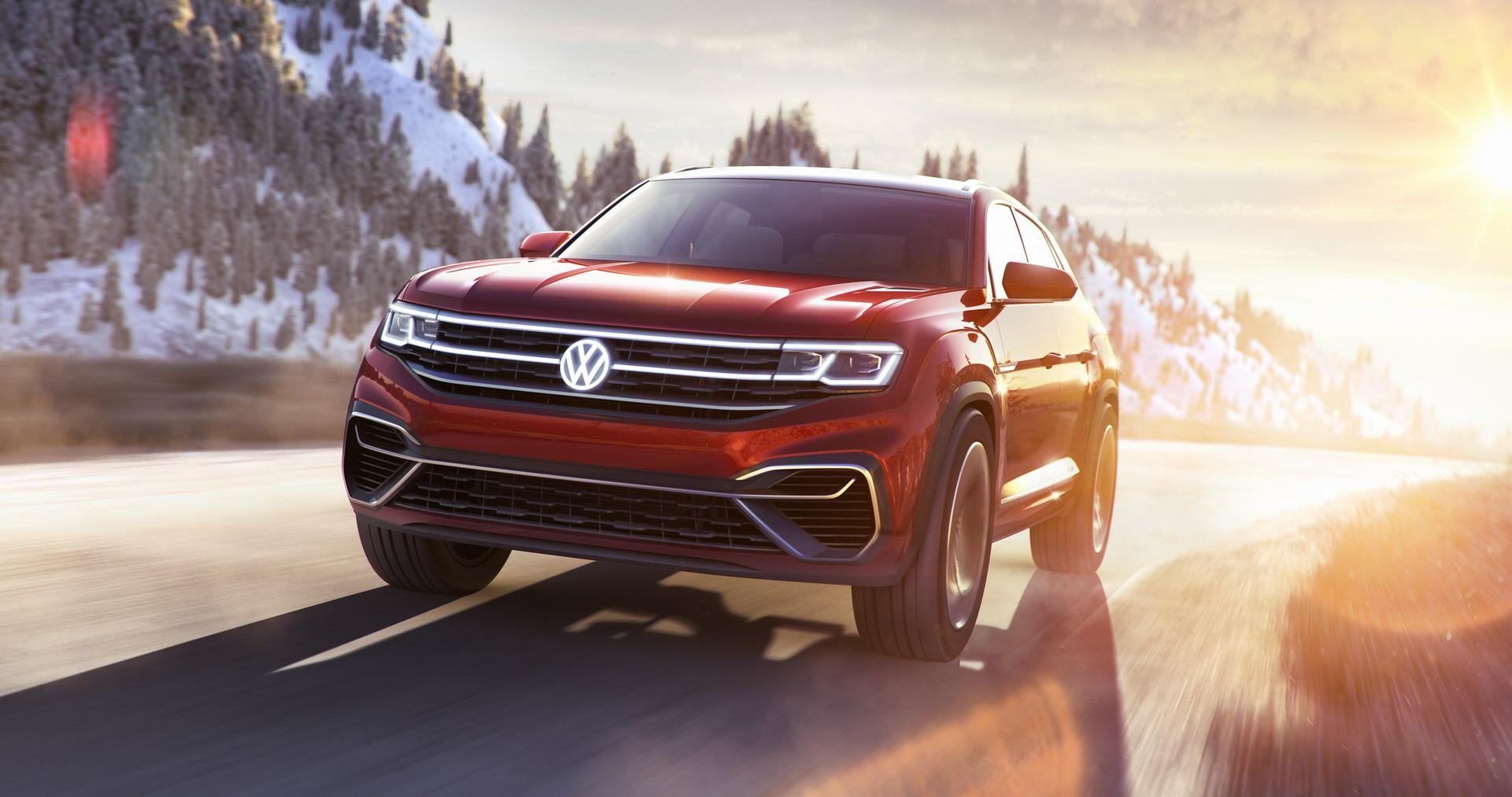 Volkswagen Atlas Cross Sport concept (1)