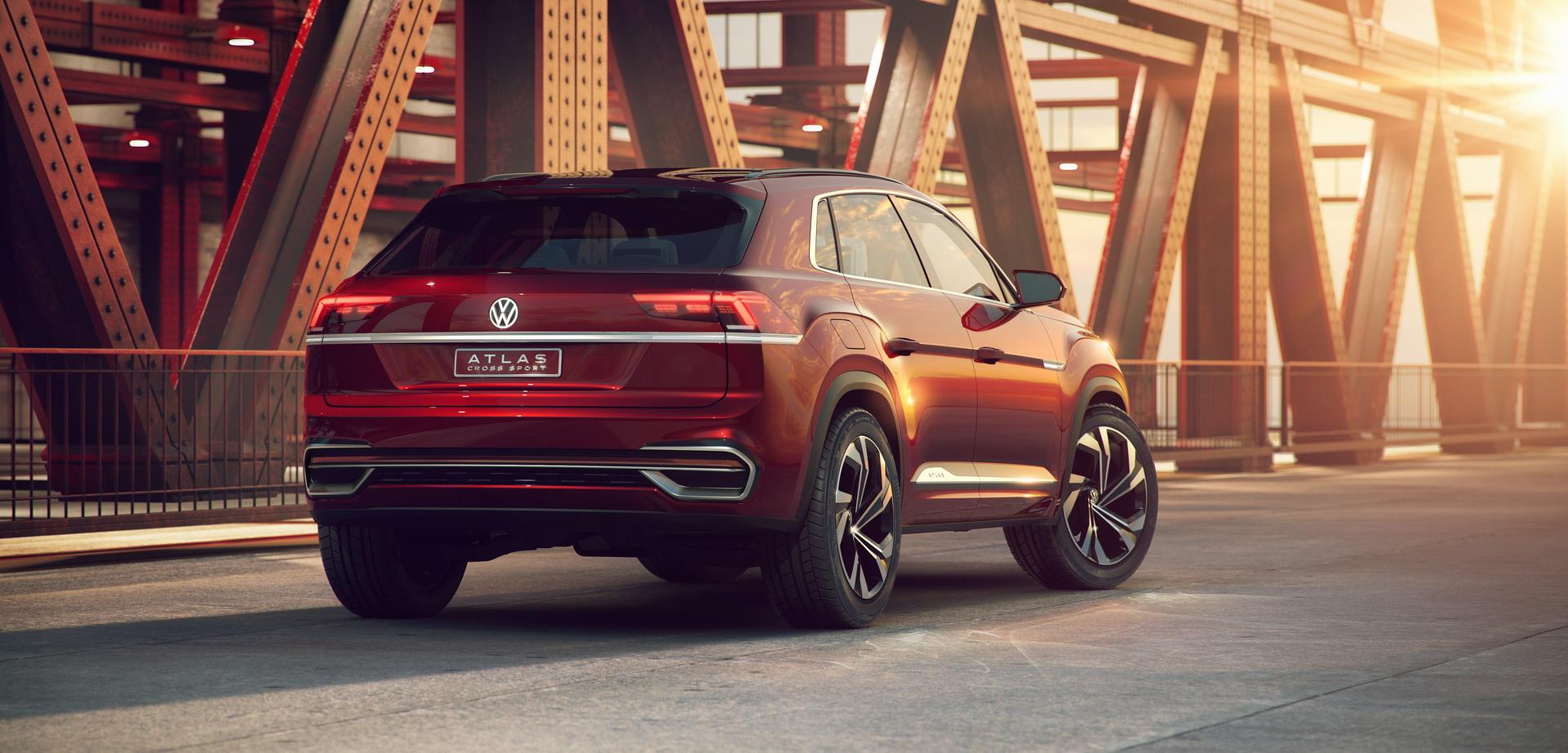 Volkswagen Atlas Cross Sport concept (11)