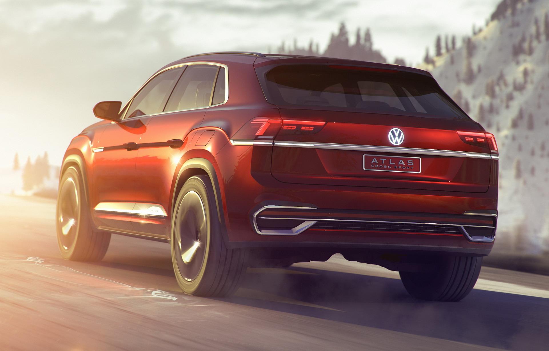Volkswagen Atlas Cross Sport concept (13)