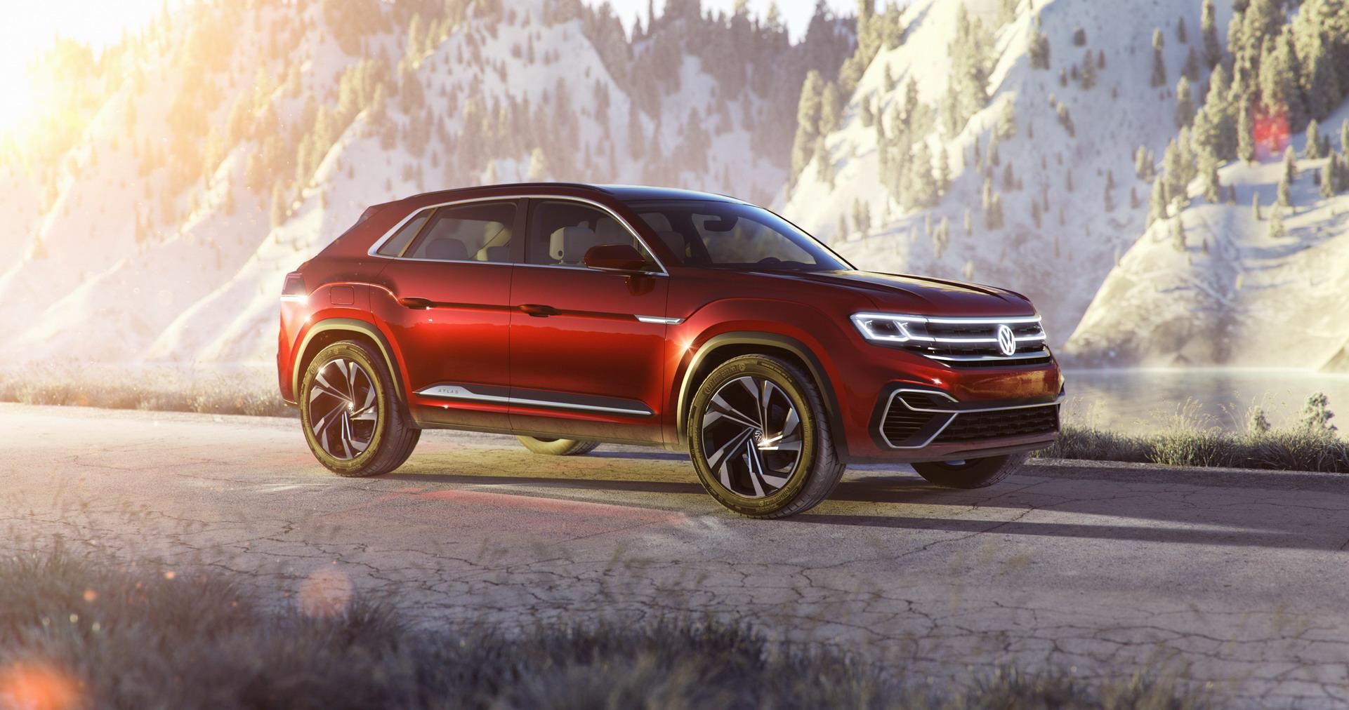 Volkswagen Atlas Cross Sport concept (2)