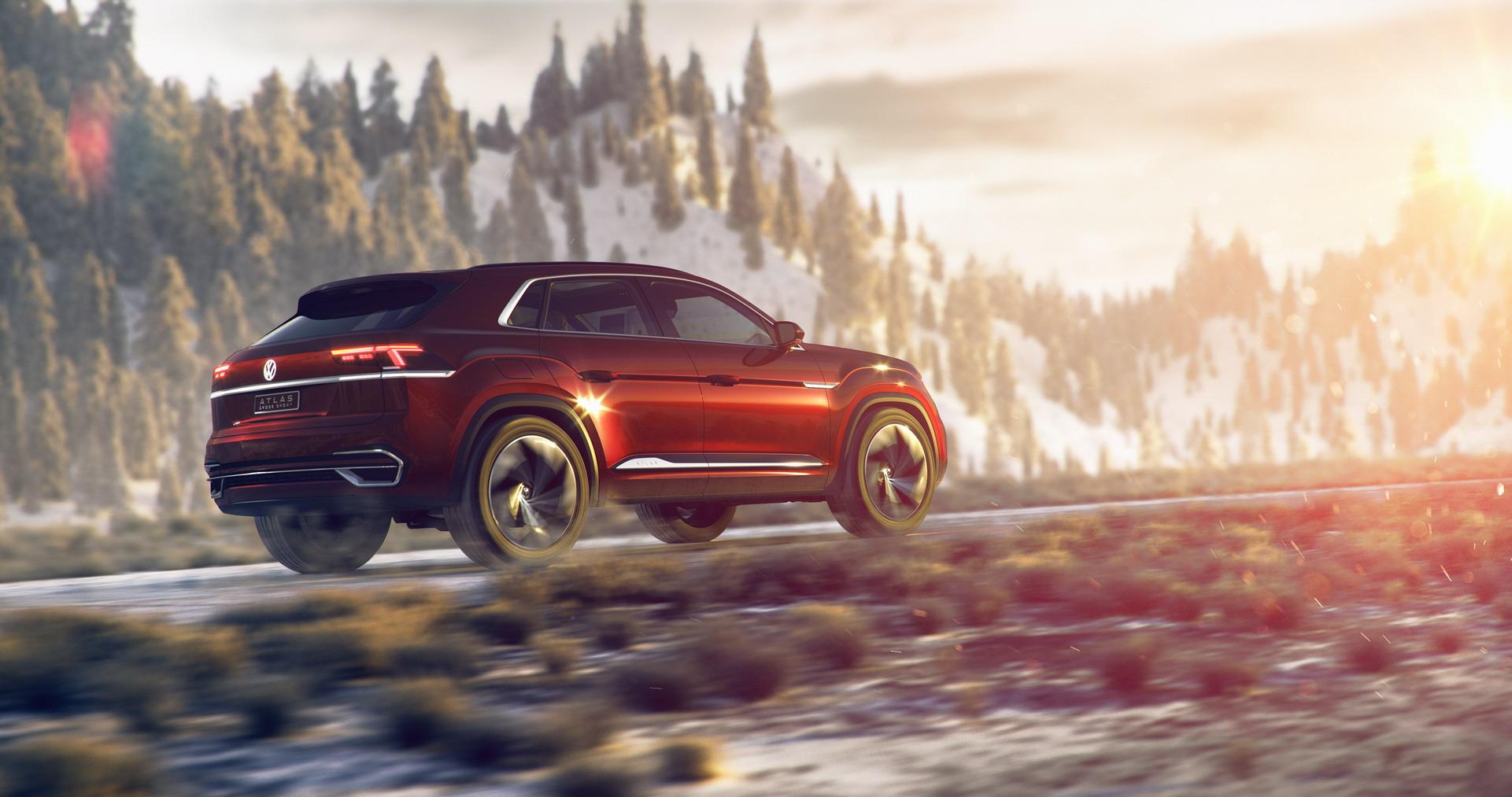 Volkswagen Atlas Cross Sport concept (3)
