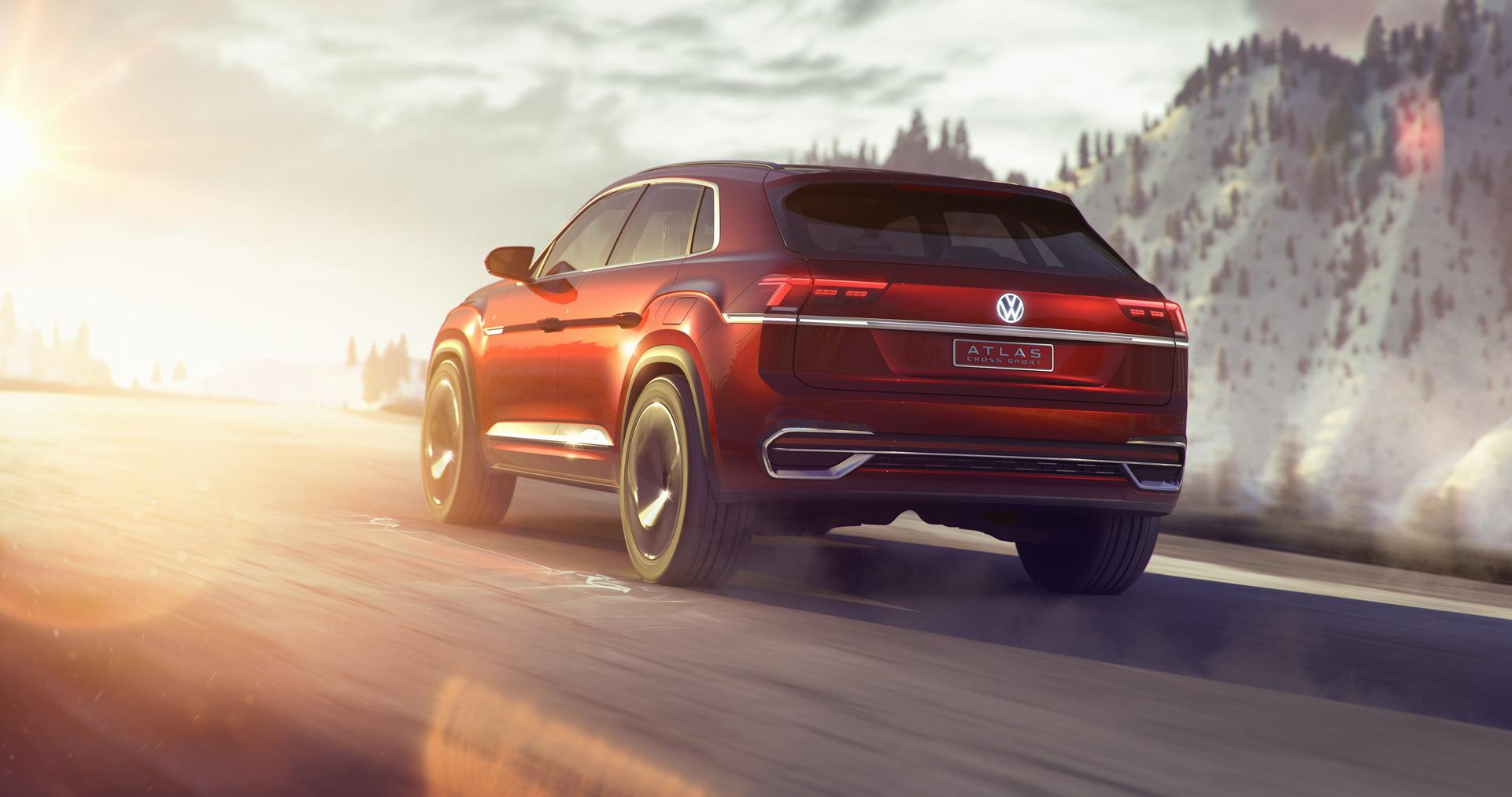 Volkswagen Atlas Cross Sport concept (4)