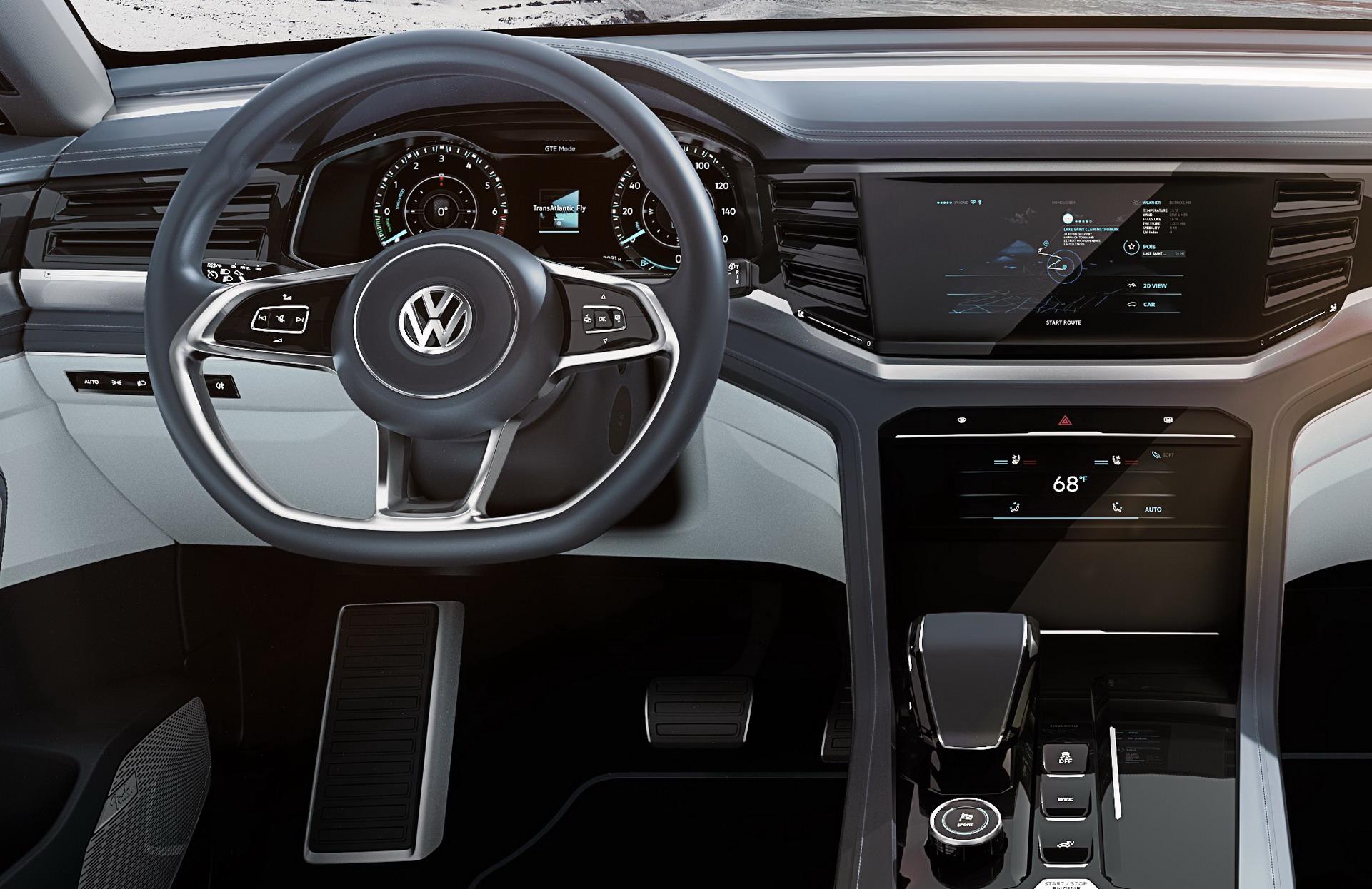 Volkswagen Atlas Cross Sport concept (5)