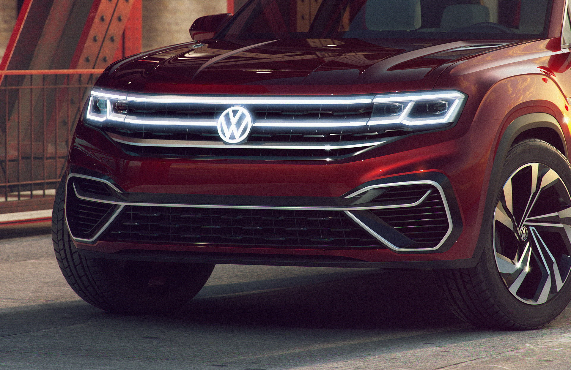 Volkswagen Atlas Cross Sport concept (6)