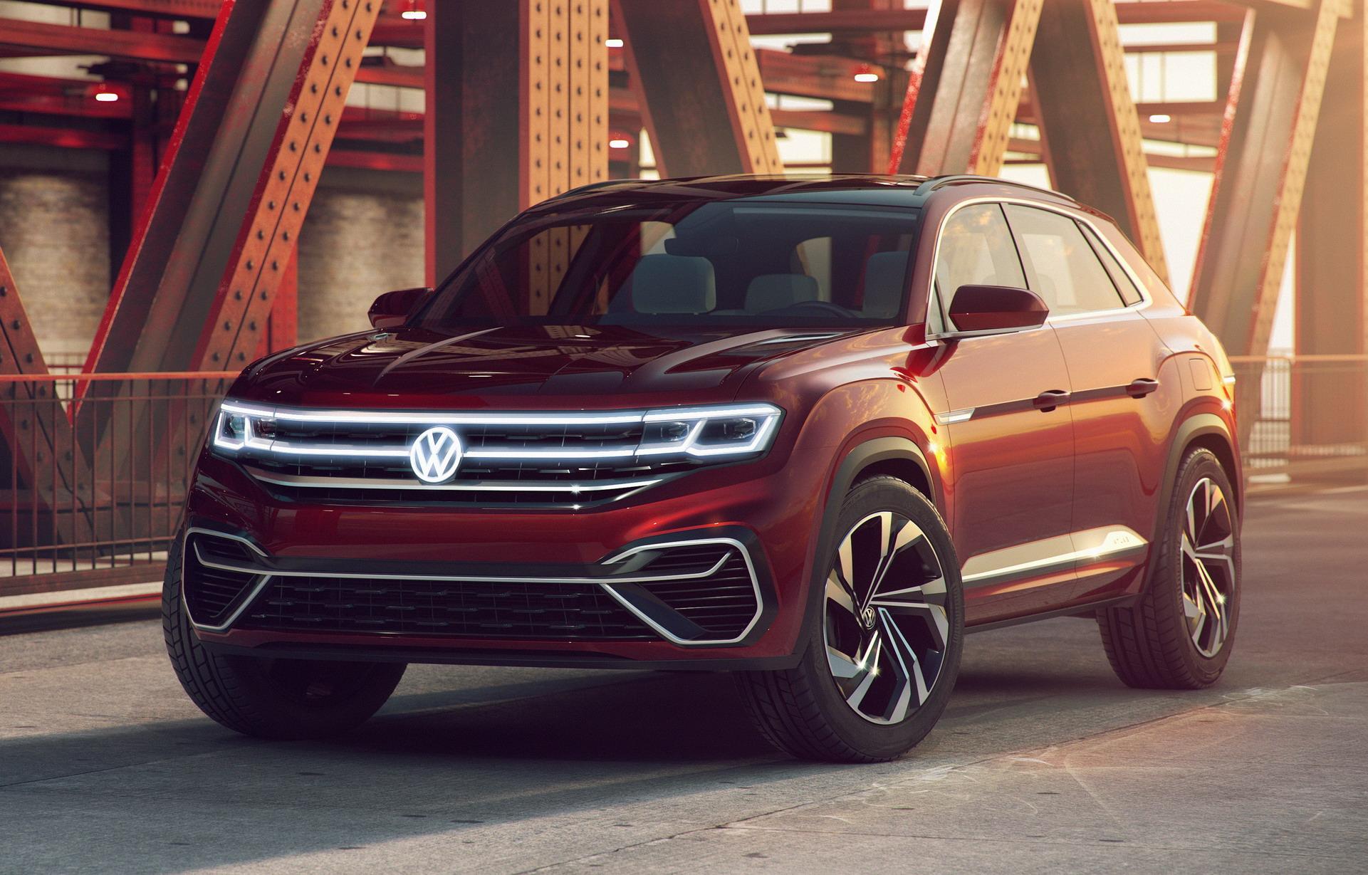 Volkswagen Atlas Cross Sport concept (7)
