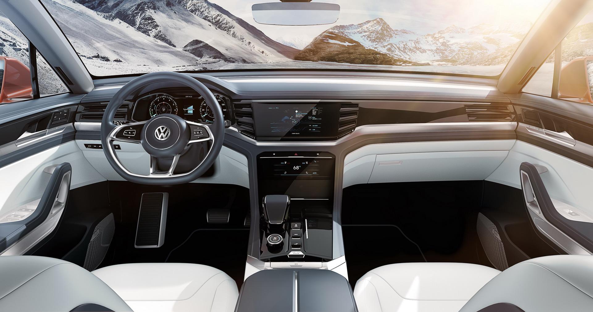 Volkswagen Atlas Cross Sport concept (8)