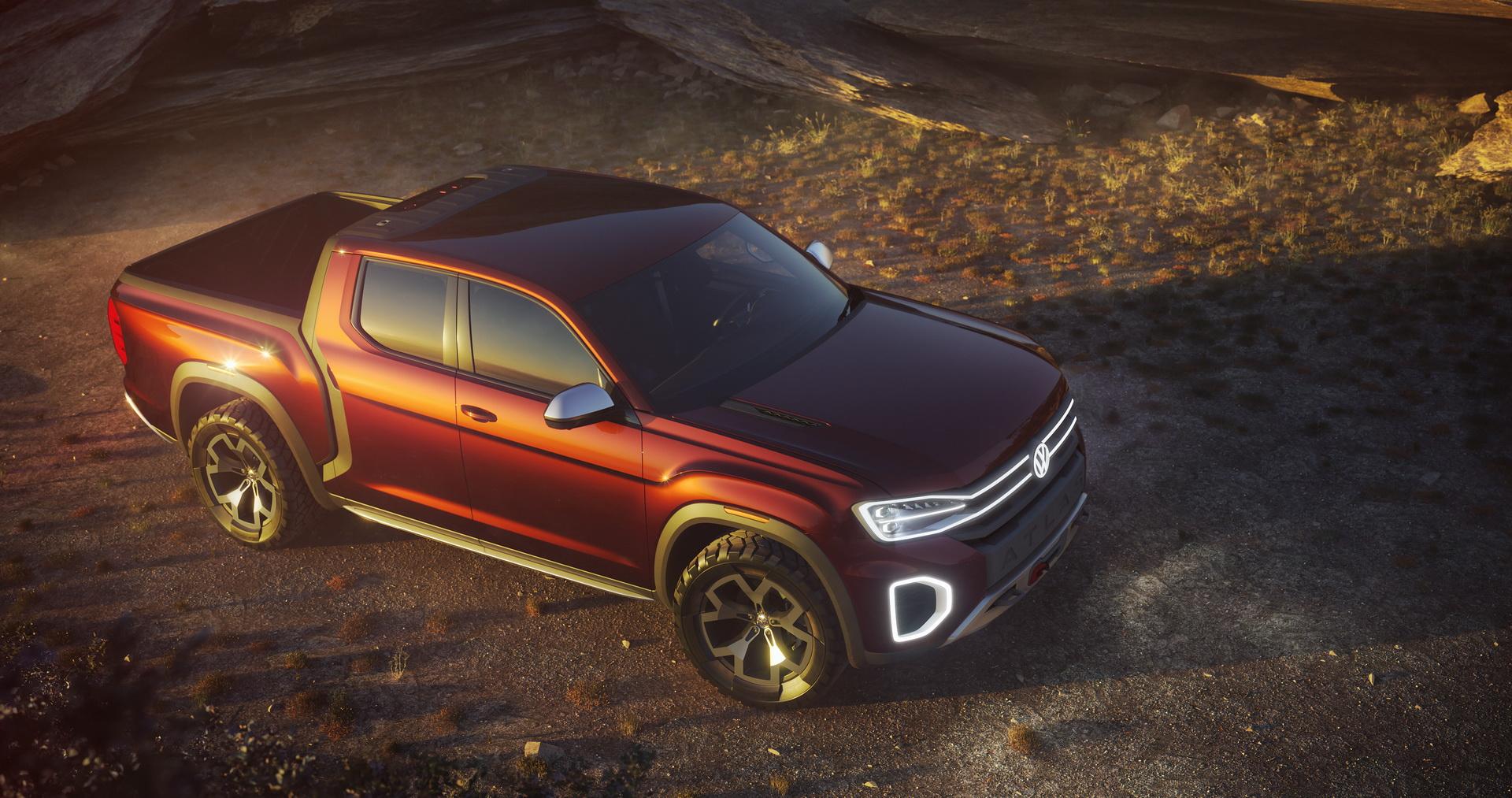 Volkswagen Atlas Tanoak concept (1)
