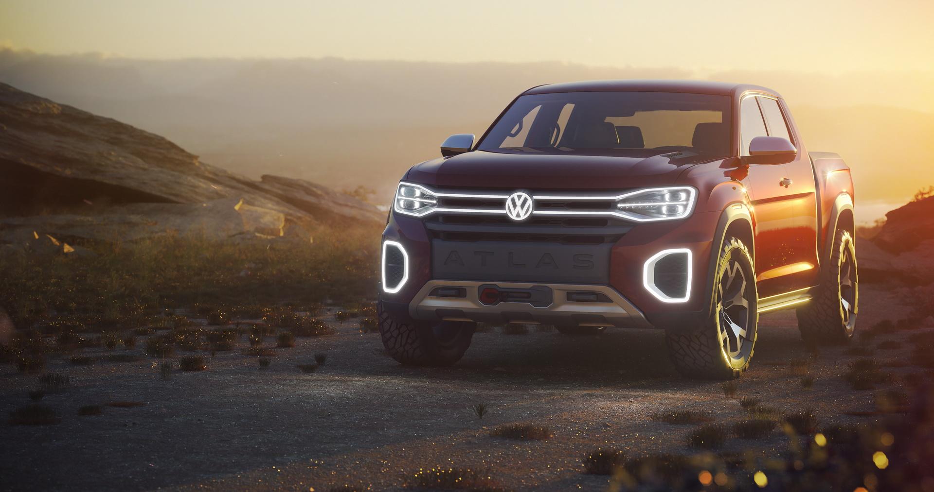 Volkswagen Atlas Tanoak concept (3)