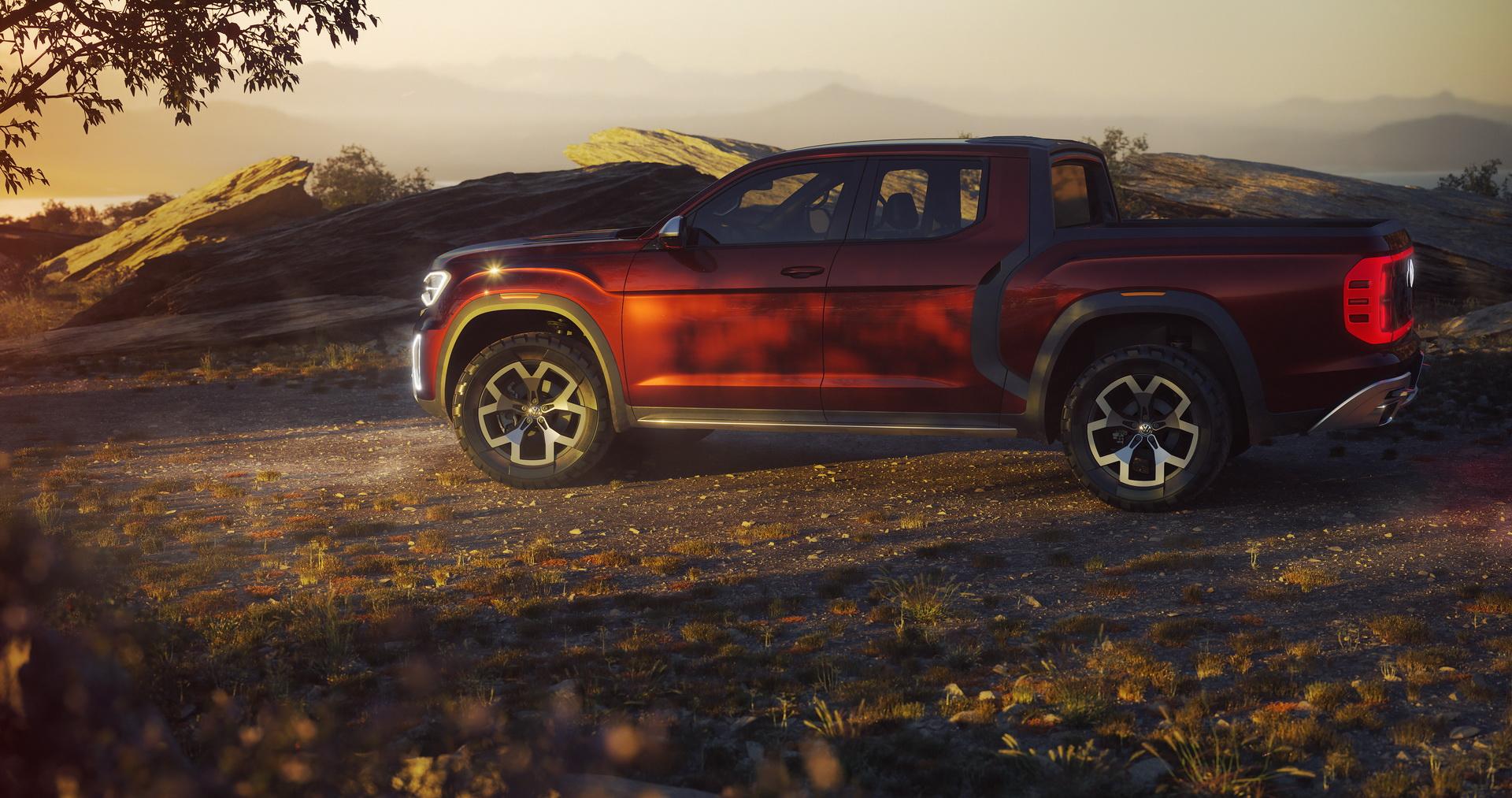 Volkswagen Atlas Tanoak concept (5)