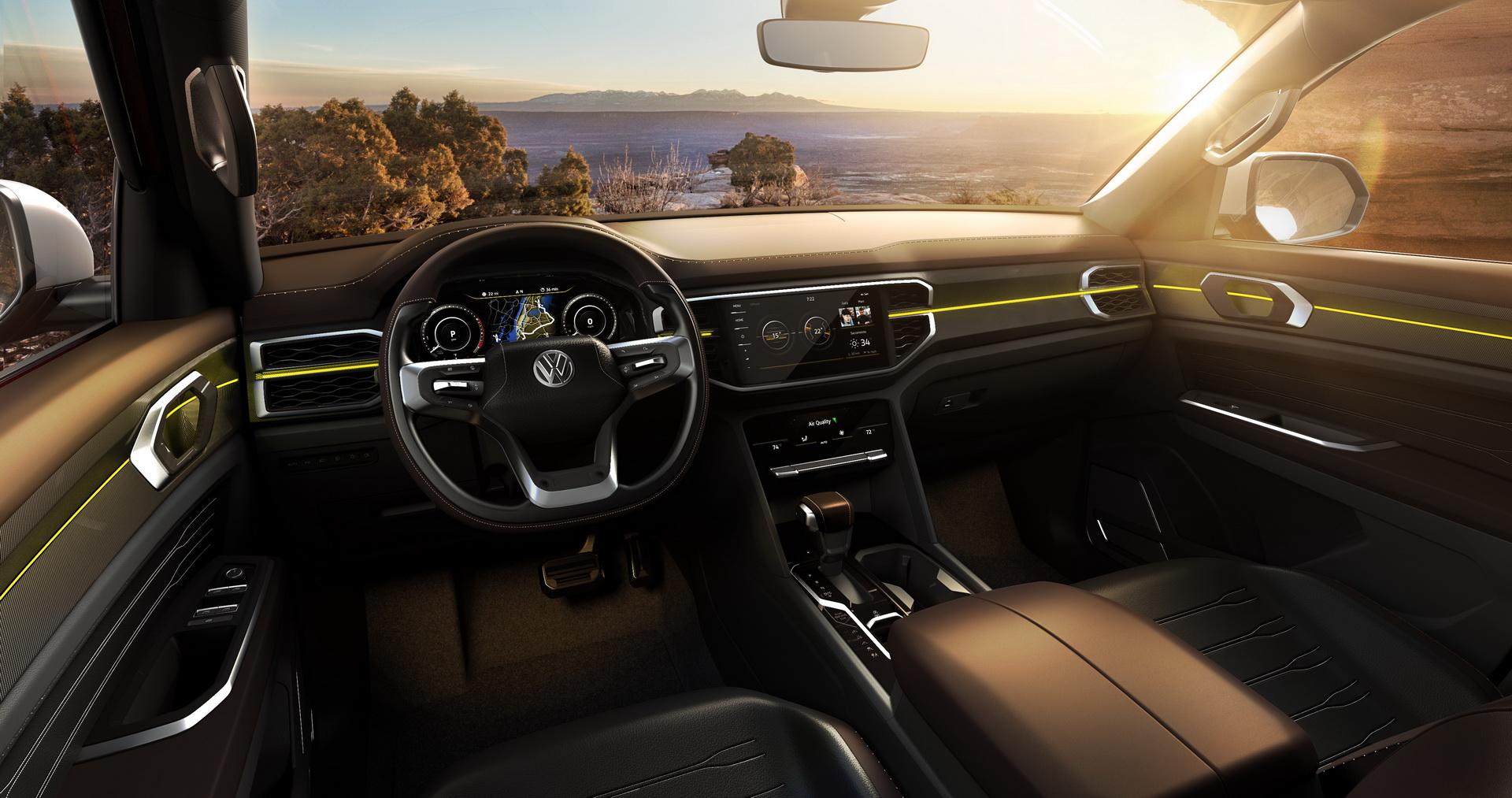 Volkswagen Atlas Tanoak concept (6)