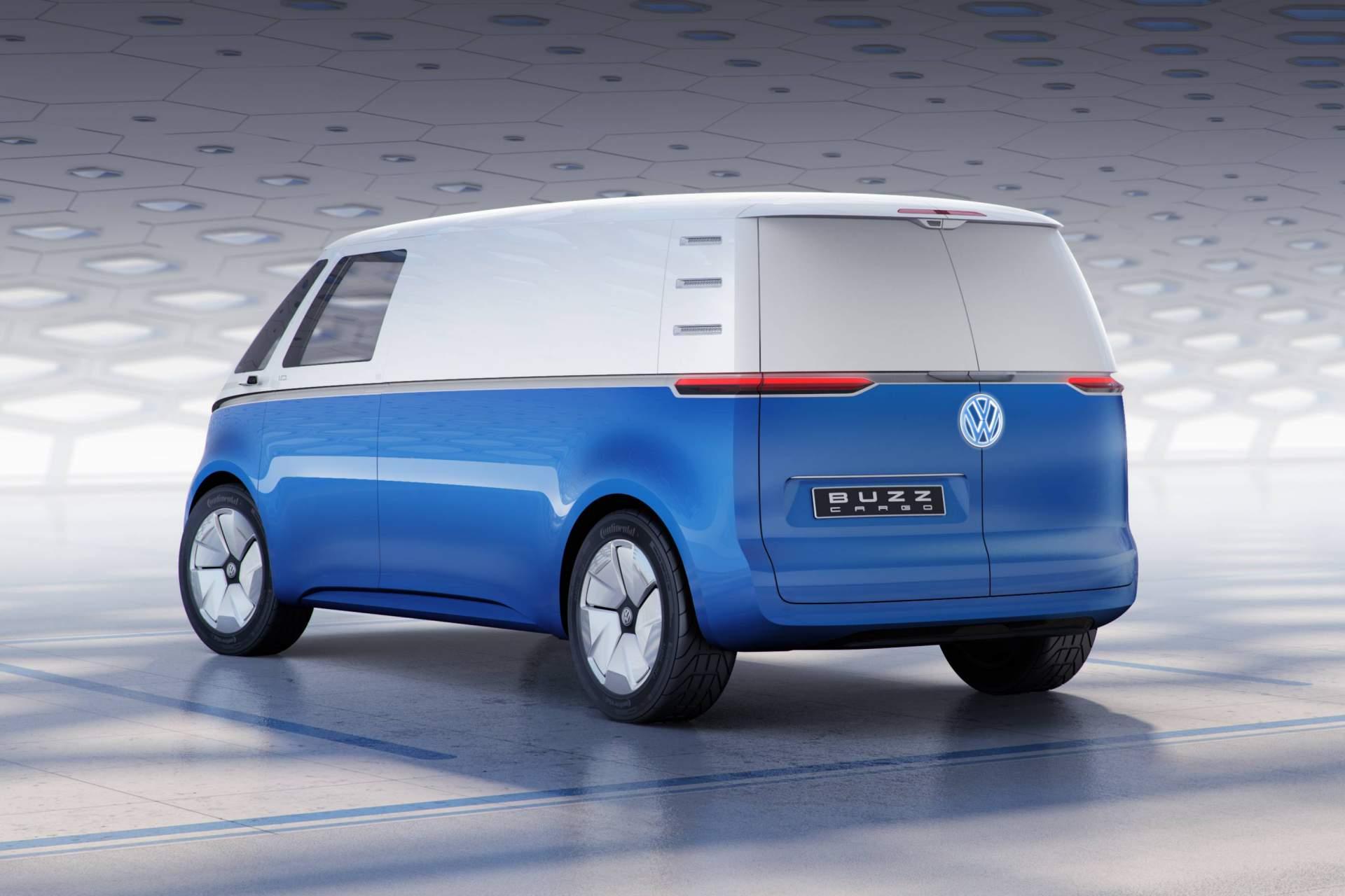 Volkswagen I.D. Buzz Cargo concept (4)