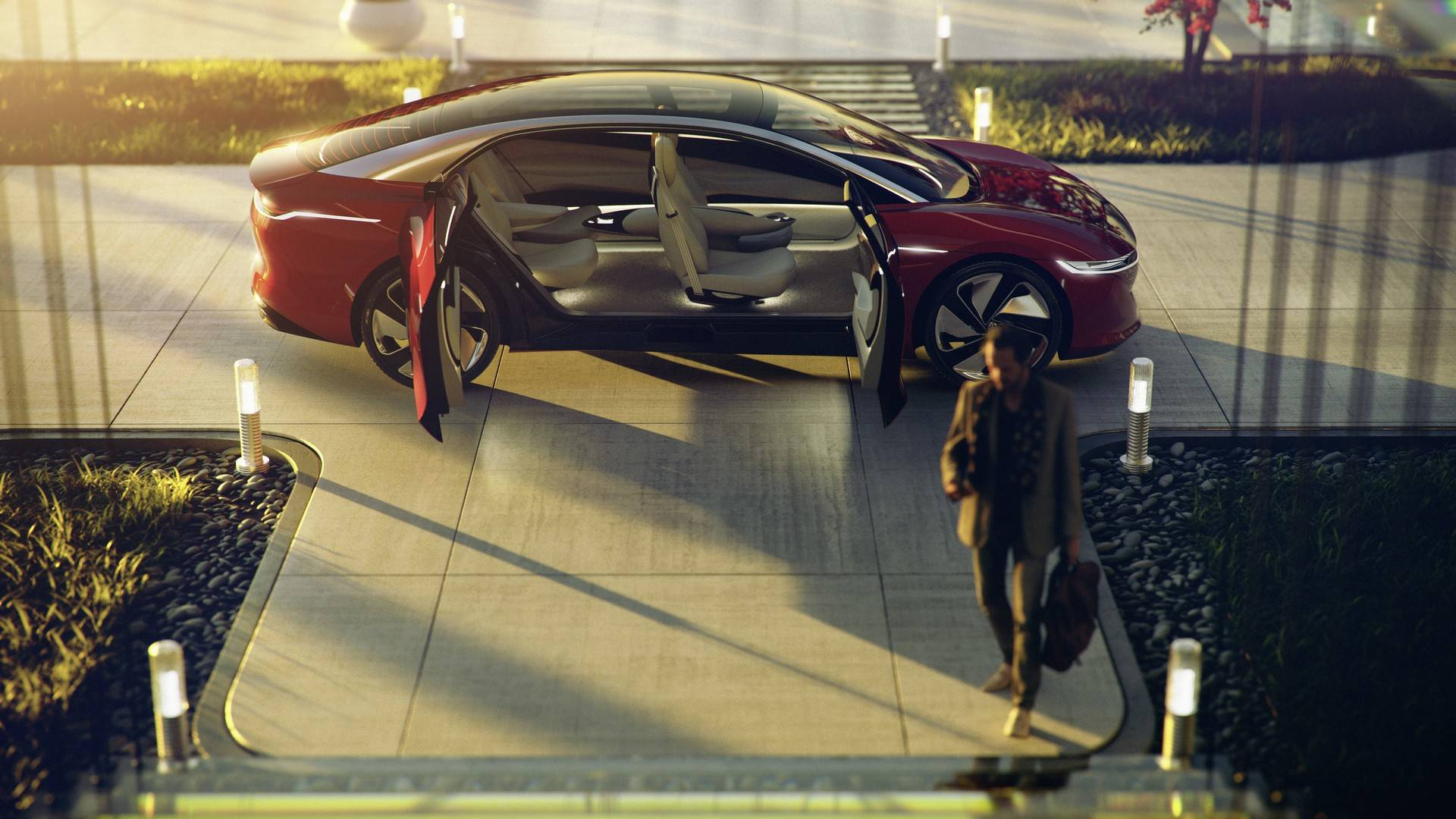 Volkswagen I.D Vizzion Concept (11)