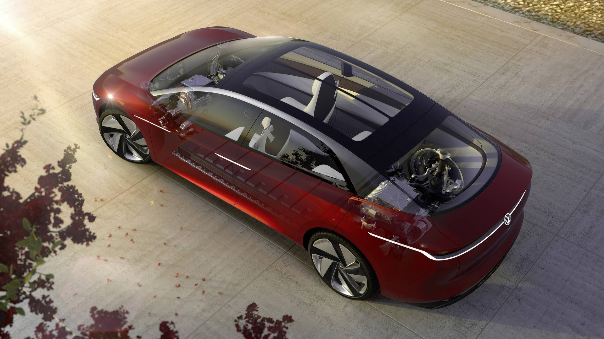 Volkswagen I.D Vizzion Concept (18)