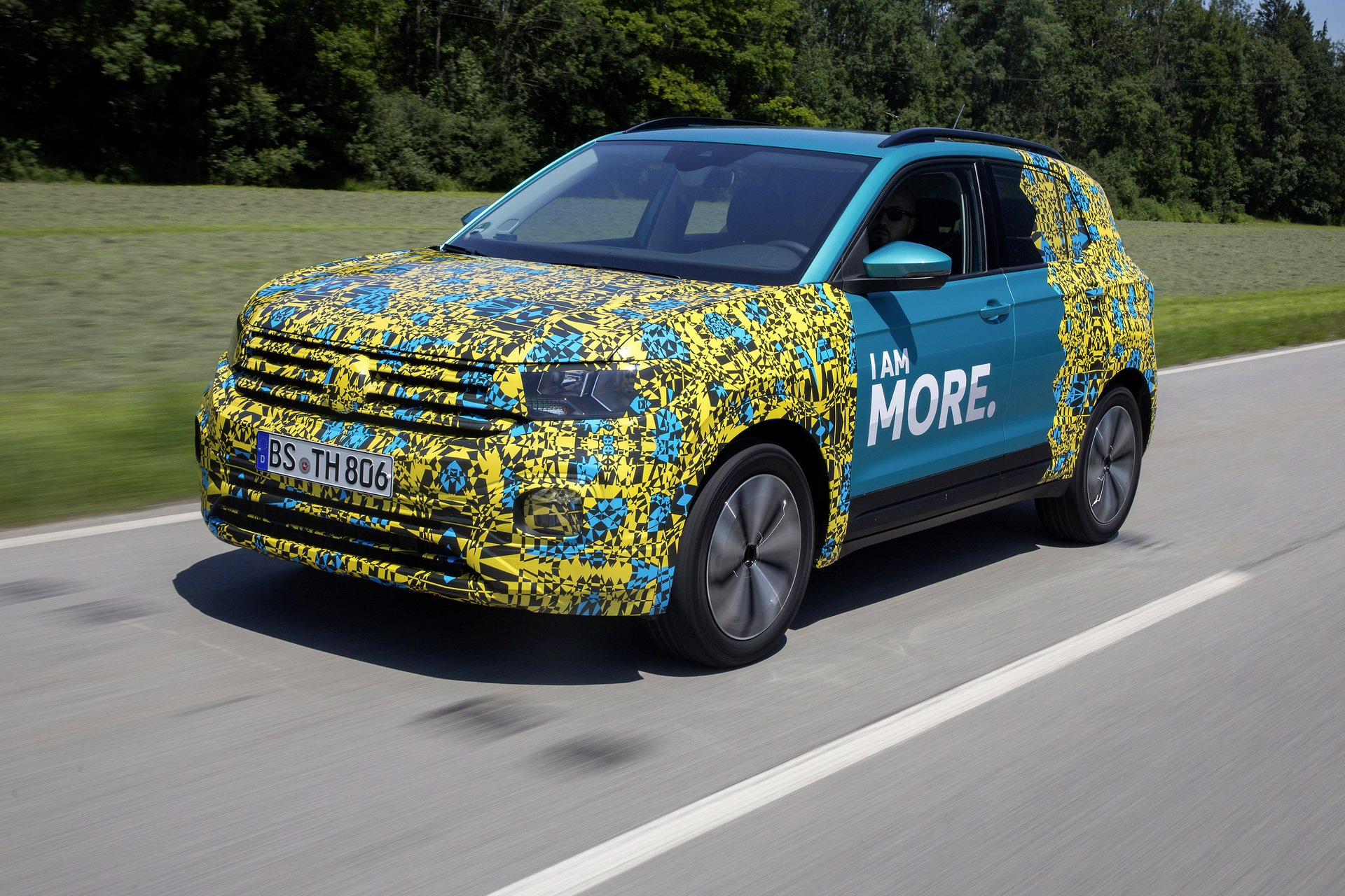 Volkswagen T-Cross Sneak Peak (8)