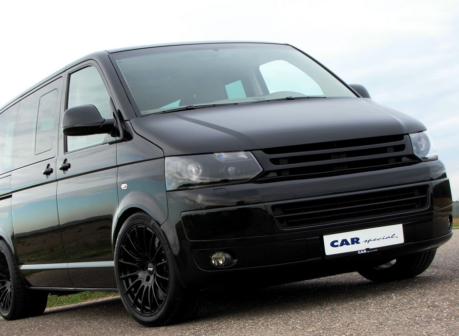 Volkswagen T5 Multivan with Porsche 911 Turbo engine for sale (27)