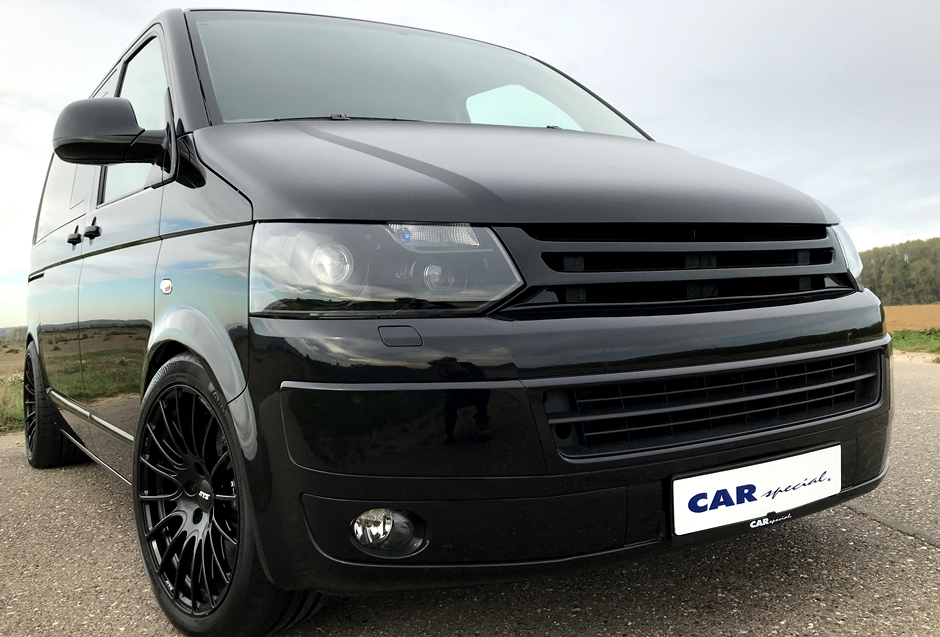 Volkswagen T5 Multivan with Porsche 911 Turbo engine for sale (3)