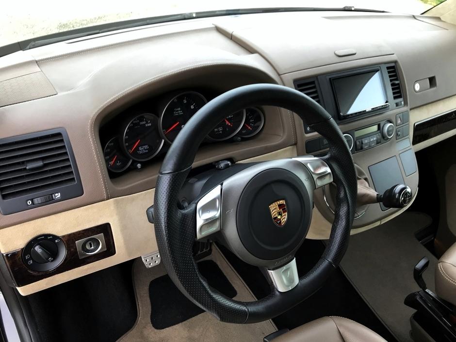 Volkswagen T5 Multivan with Porsche 911 Turbo engine for sale (65)