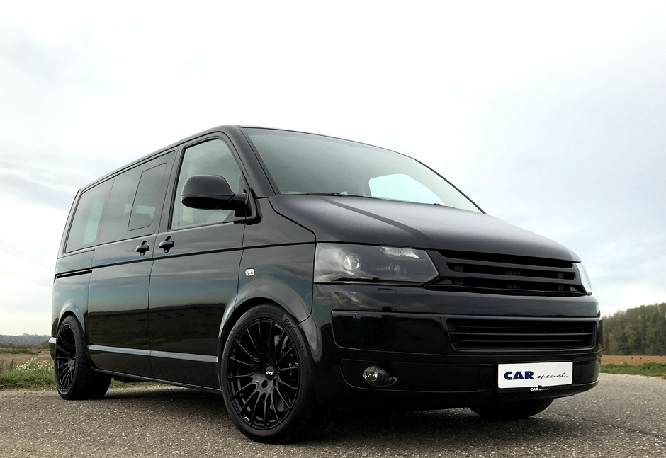 Volkswagen T5 Multivan with Porsche 911 Turbo engine for sale (7)