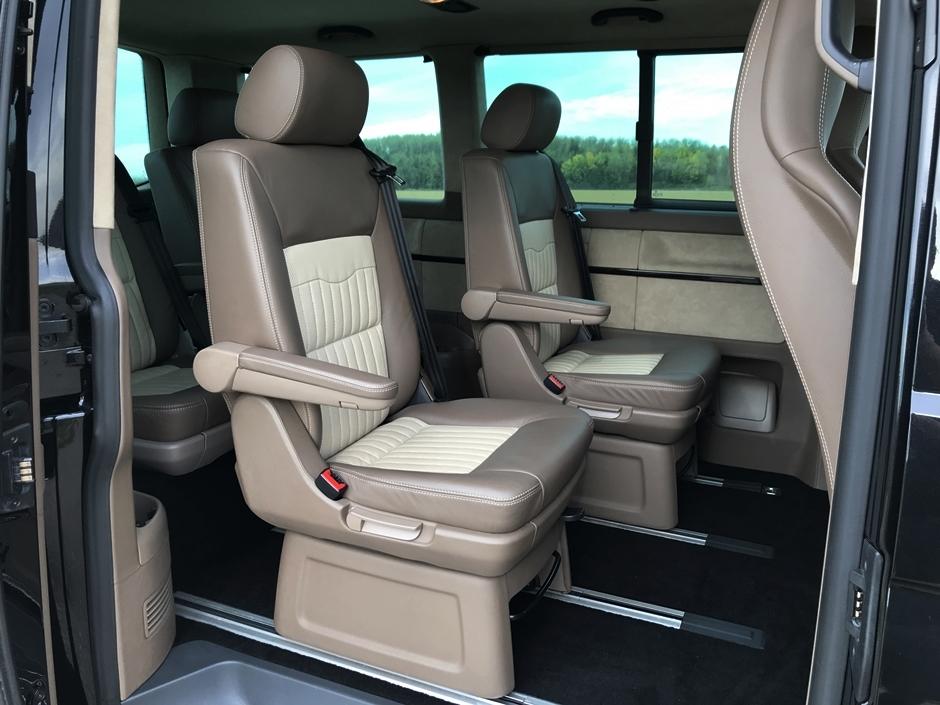 Volkswagen T5 Multivan with Porsche 911 Turbo engine for sale (85)