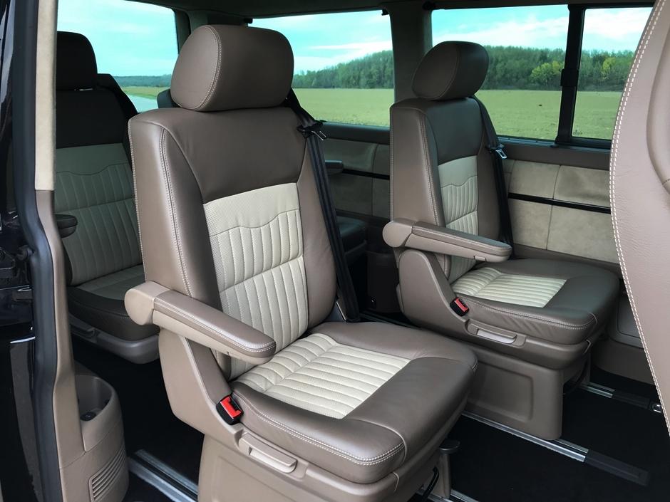 Volkswagen T5 Multivan with Porsche 911 Turbo engine for sale (86)