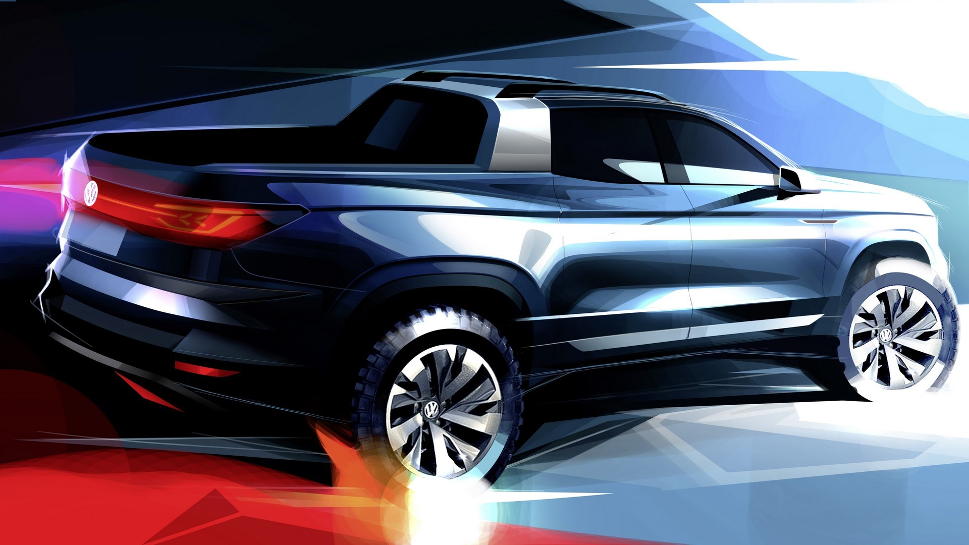 Premiere in Brazil: Volkswagen presents its pioneering pickup concept vehicle in São Paulo
