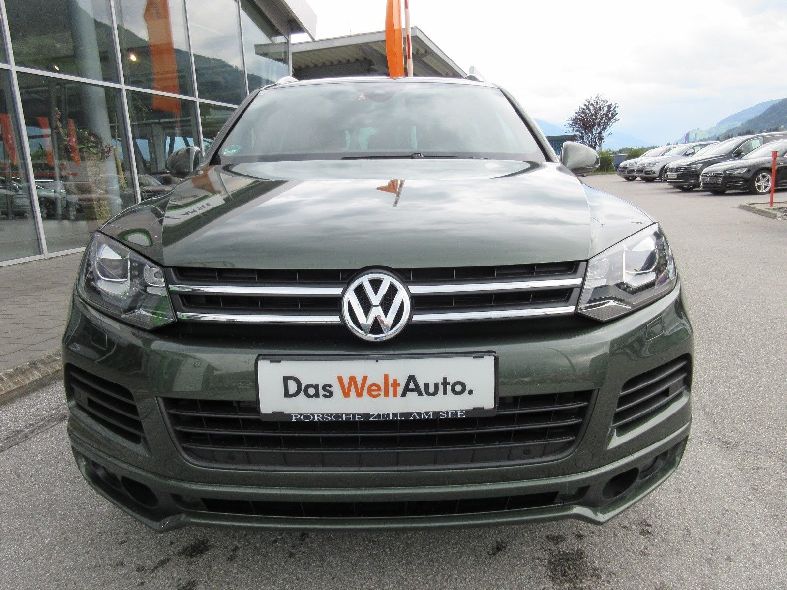 Volkswagen Touareg with RS6 engine (2)