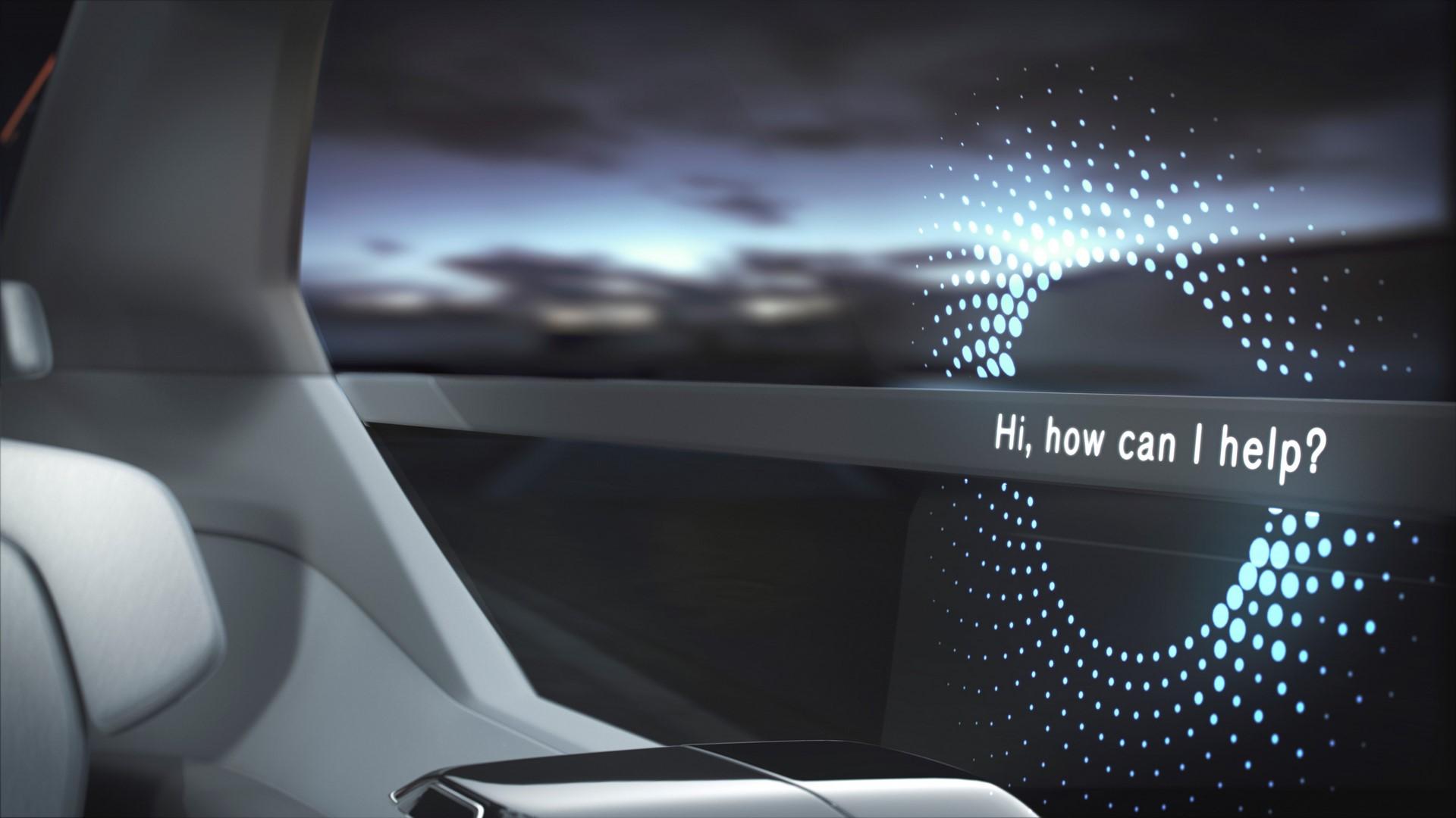 Volvo 360c Interior