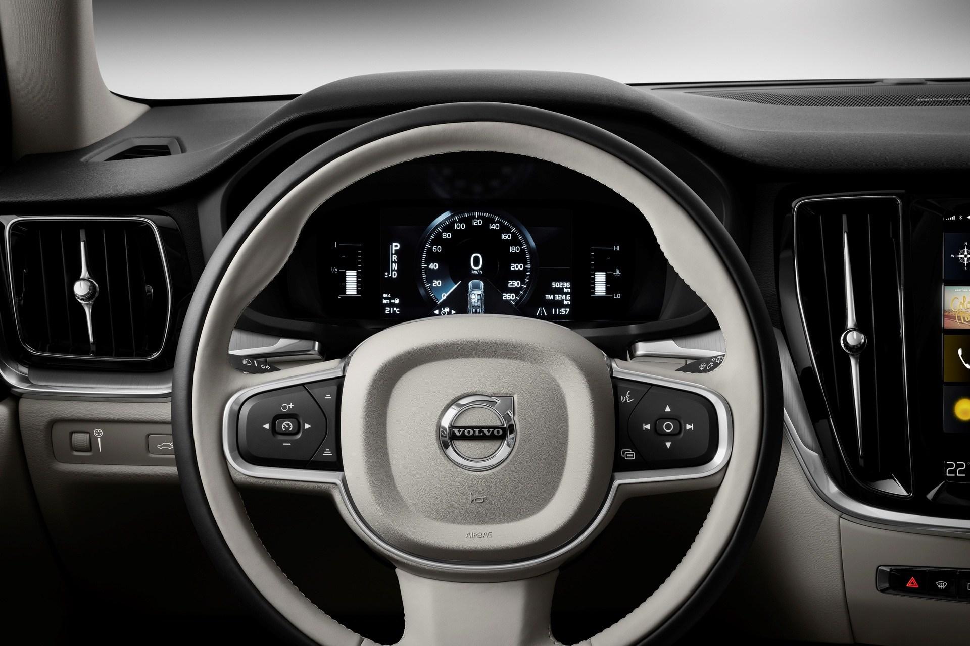 New Volvo V60 Cross Country interior
