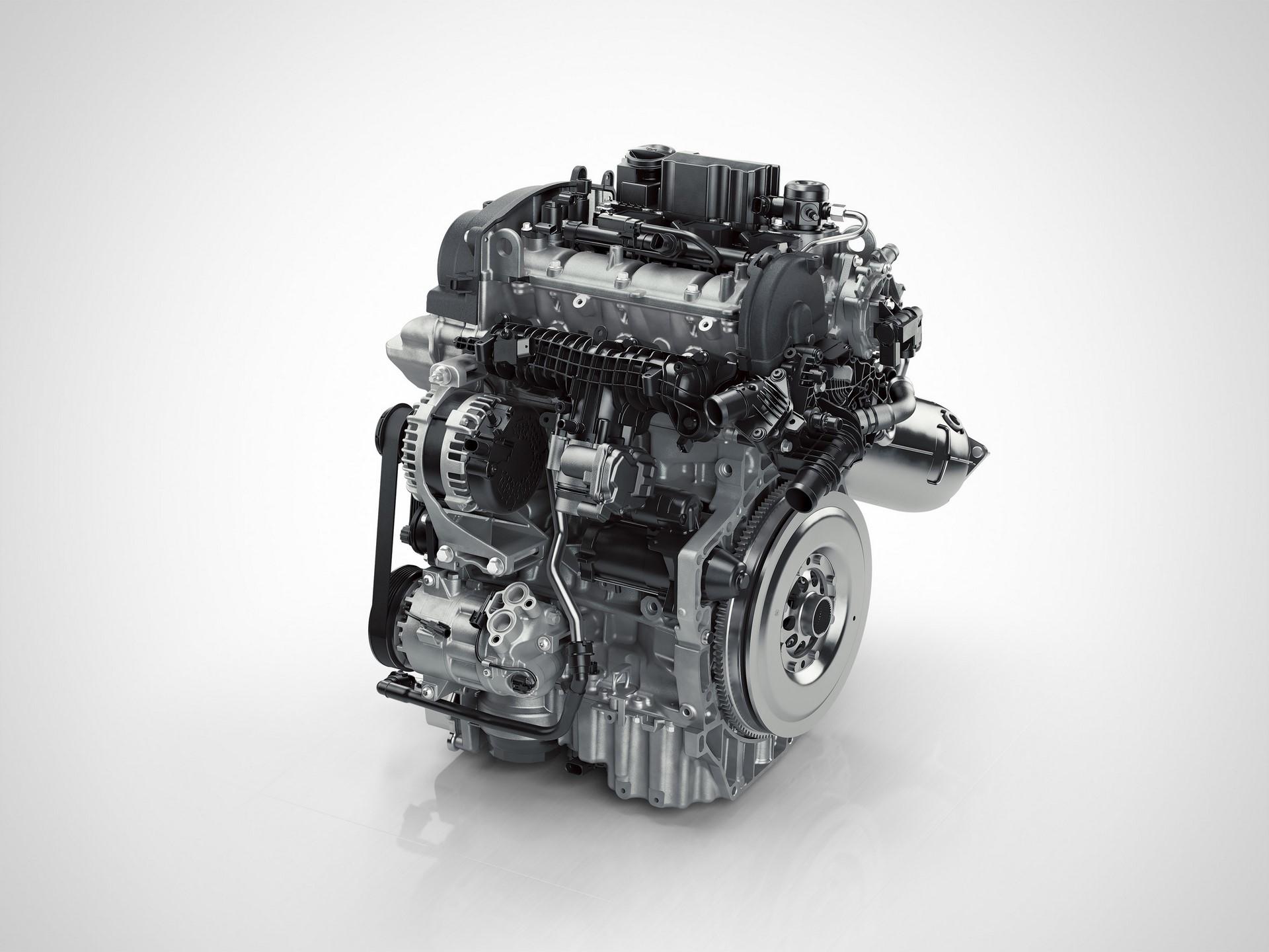 Drive-E 3-cylinder Petrol engine front