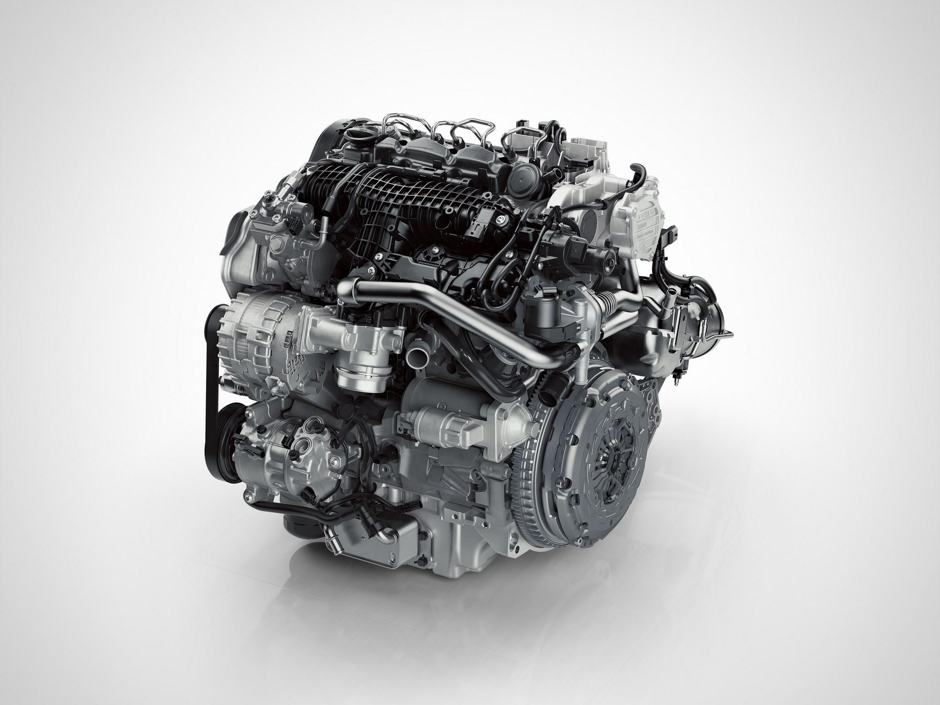 Drive-E 4 cylinder Diesel Engine - D3/D2 Front