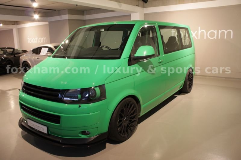VW Transporter with Porsche engine (3)