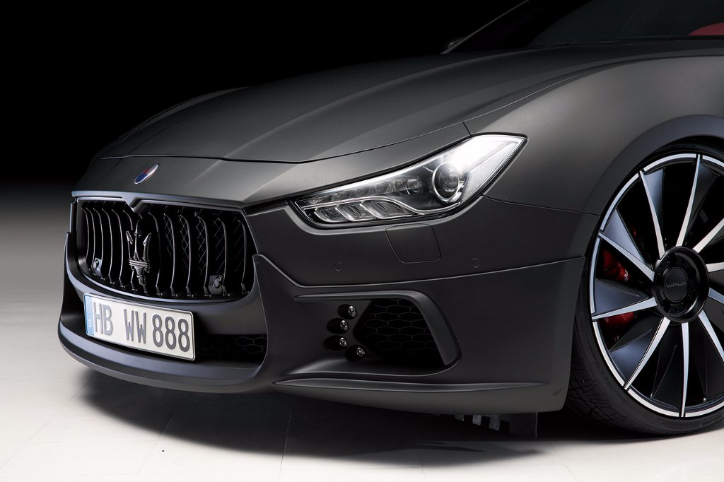 Wald International tuned Maserati Ghibli 14
