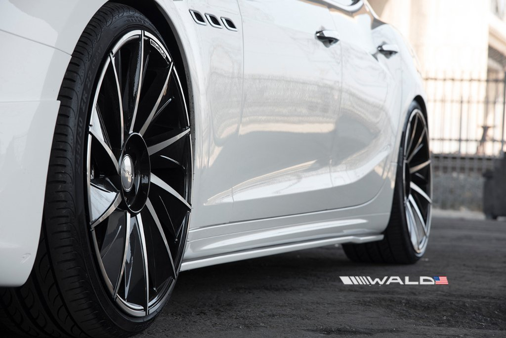 Wald International tuned Maserati Ghibli 15