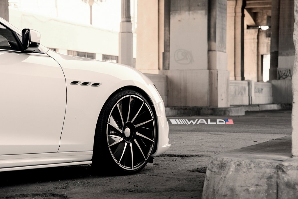 Wald International tuned Maserati Ghibli 19