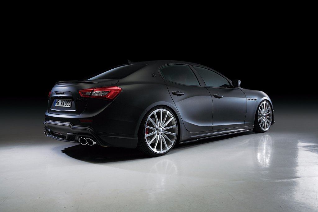 Wald International tuned Maserati Ghibli 2