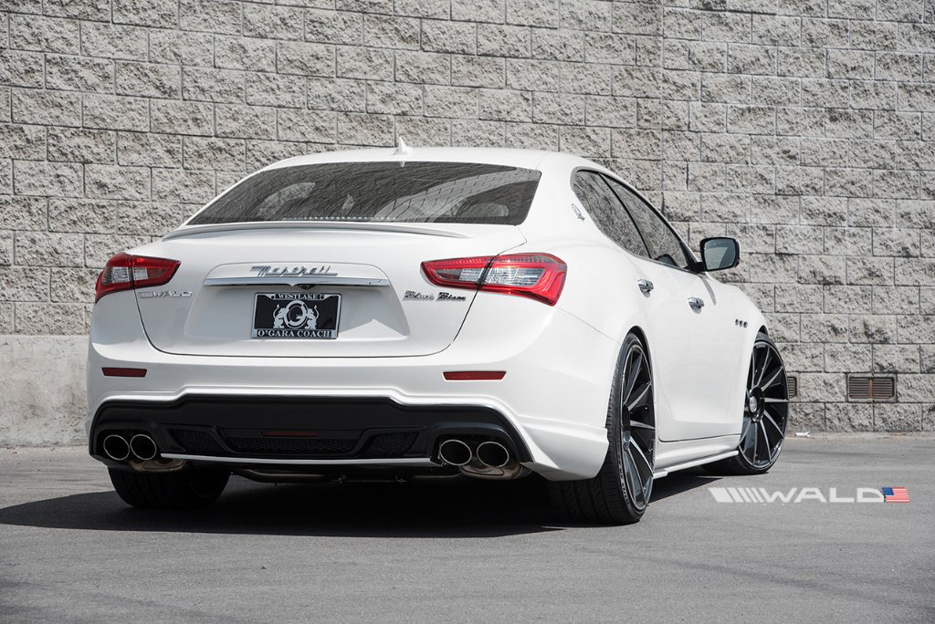 Wald International tuned Maserati Ghibli 20