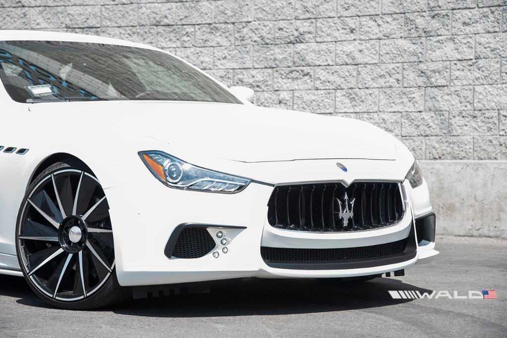 Wald International tuned Maserati Ghibli 22