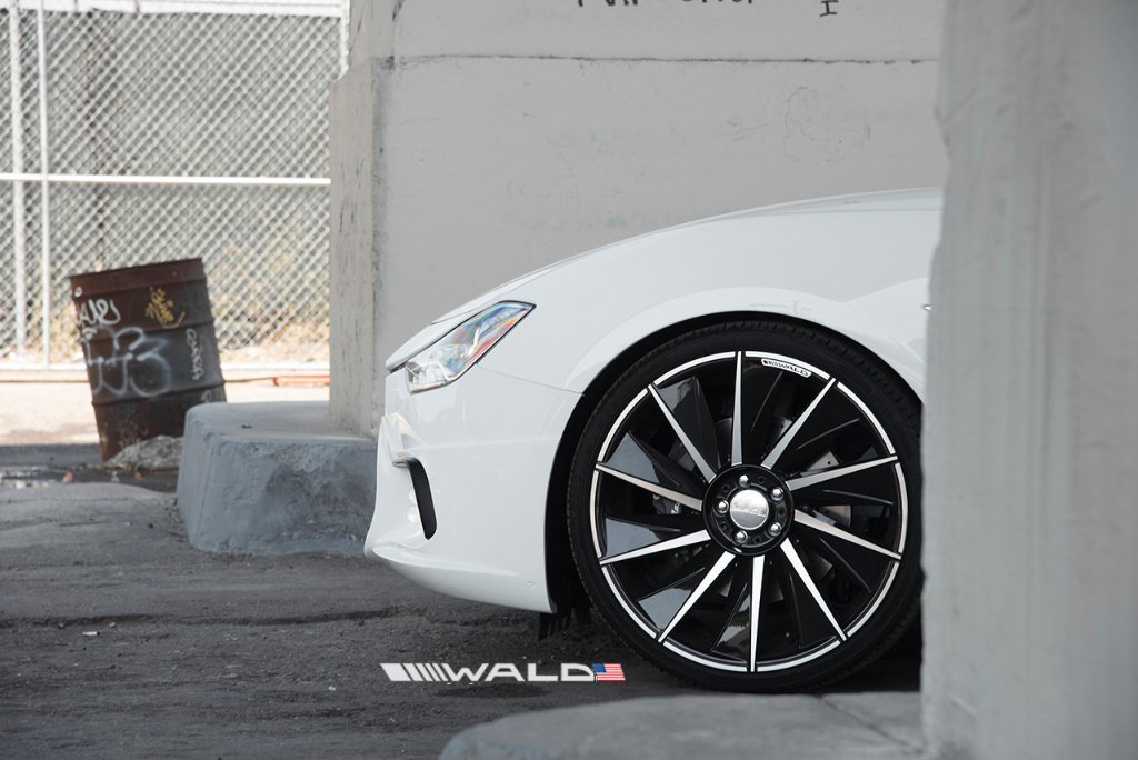 Wald International tuned Maserati Ghibli 6