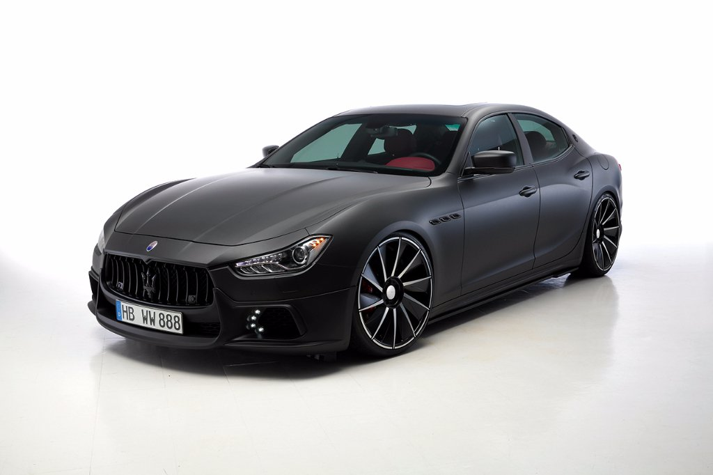 Wald International tuned Maserati Ghibli 7