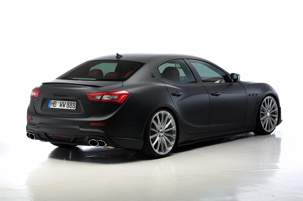 Wald International tuned Maserati Ghibli 8