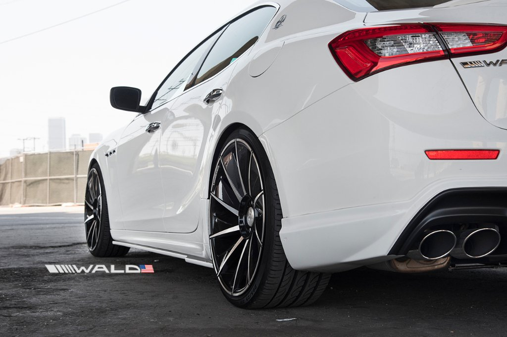 Wald International tuned Maserati Ghibli 9