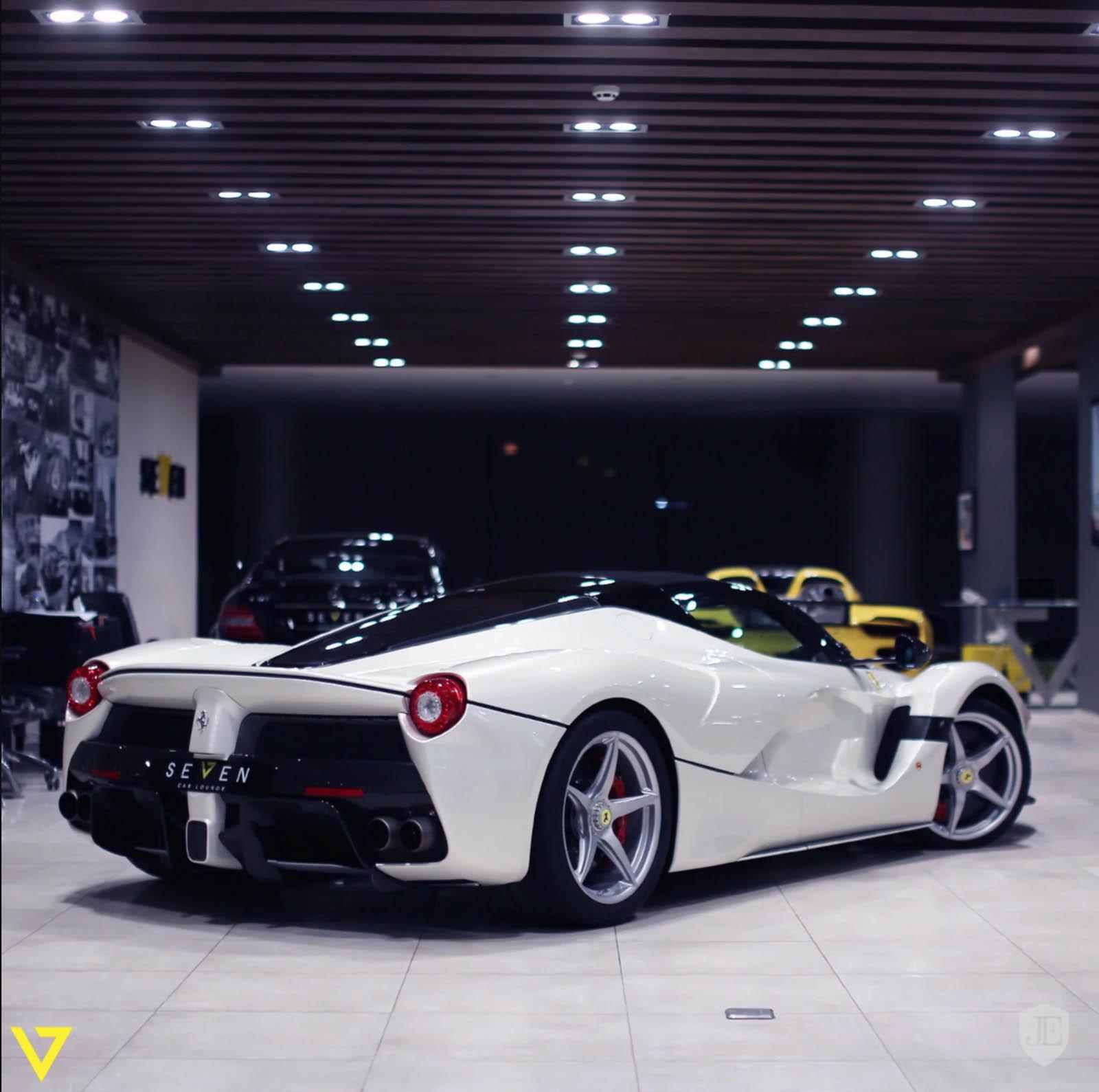 White LaFerrari Aperta for sale (5)